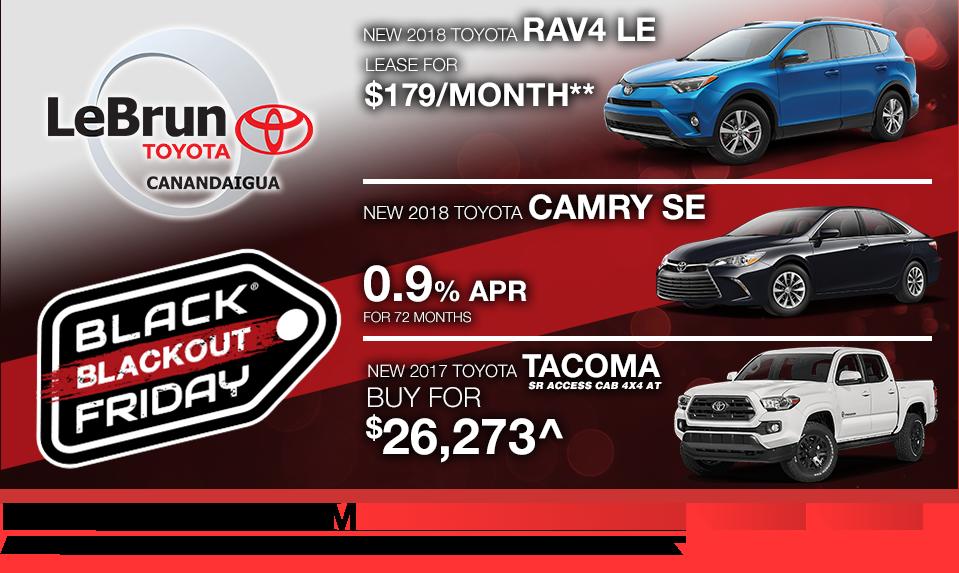 Toytota Sales Event Lebrun Toyota