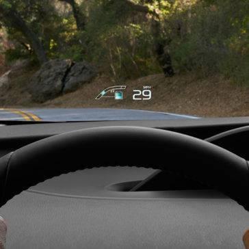Prius Prime Head Up Display