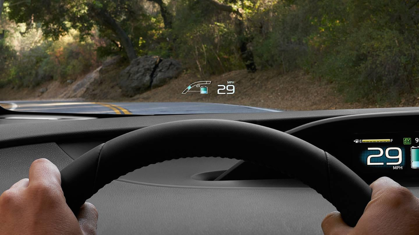 Prius Prime Head Up Display