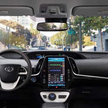 Prius Prime Multimedia Display