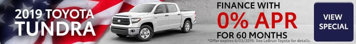 Memorial Day 0% APR Toyota Tundra Offer