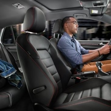 2017 Volkswagen Golf GTI front interior