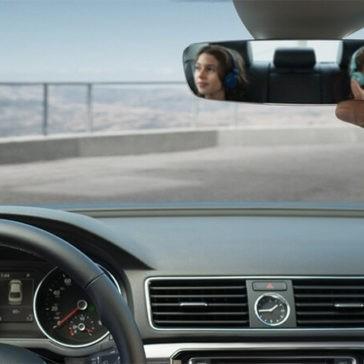 2017 Volkswagen Passat front interior