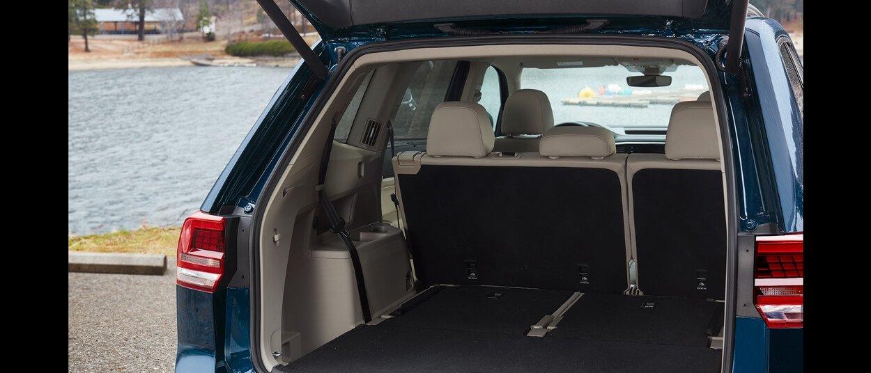2018 Volkswagen Atlas cargo space