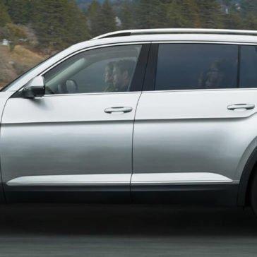 2018 Volkswagen Atlas side view