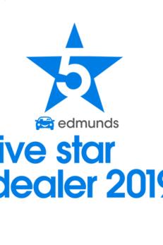 edmunds five star dealer 2014, 2015, 2016, 2017, 2018 & 2019!