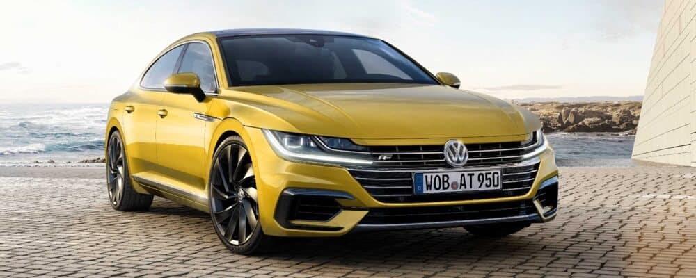 Volkswagen Arteon yellow exterior