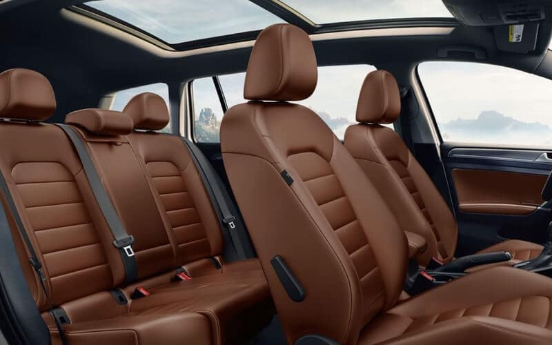 2017 Volkswagen Golf Alltrack seating