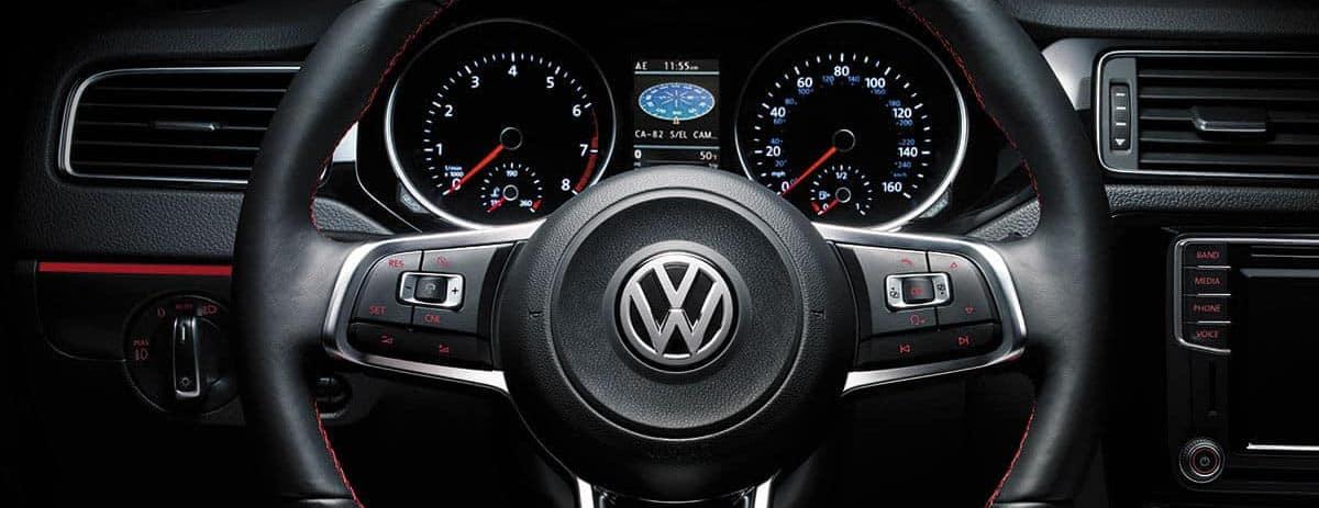 2018 Volkswagen Jetta steering detail