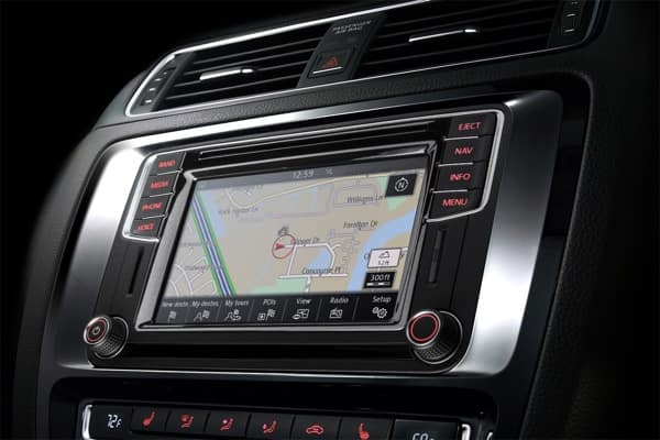 Media Touchscreen Navigation feature