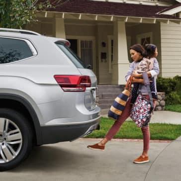 2018 Volkswagen Atlas exterior features