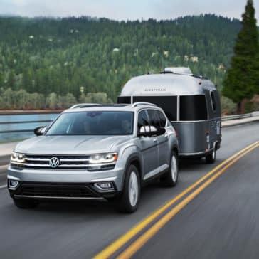 2018 Volkswagen Atlas towing capabilities