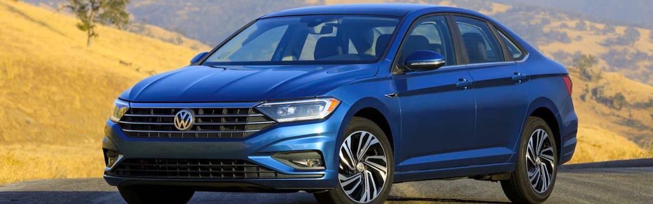 Blue 2019 Jetta Sedan