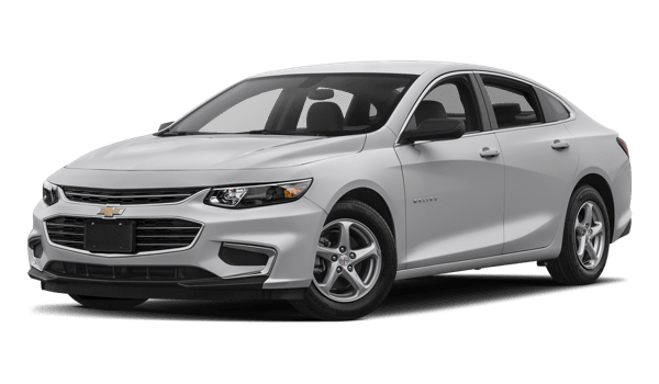 2018 Chevrolet Malibu white background