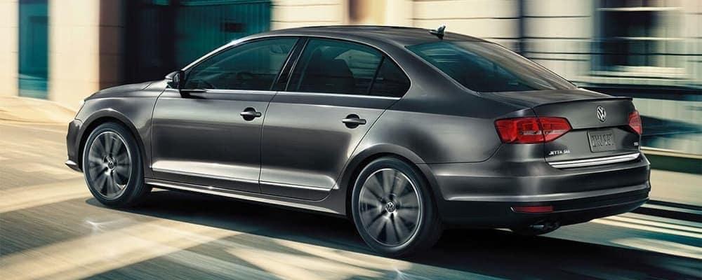 2018 Volkswagen Jetta dark exterior rear view