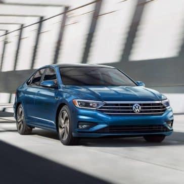 2019 Volkswagen Jetta blue exterior