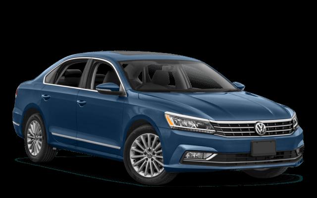 2018 Volkswagen Passat Blue Angled