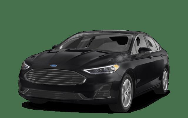 2019 Ford Fusion Black