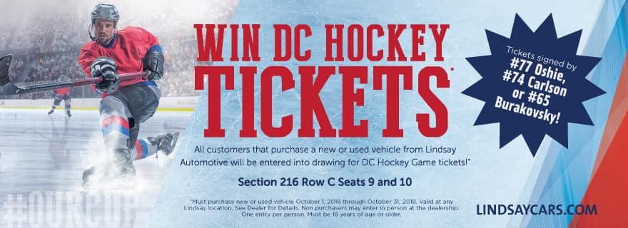 Hockey Ticket Giveaway