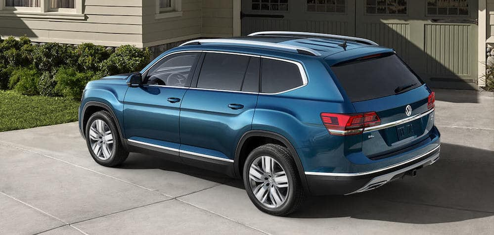 Blue VW Atlas 2019
