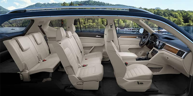 2019 Volkswagen Atlas Interior Seating
