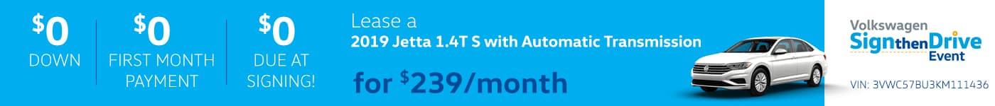 2019 Jetta S Automatic