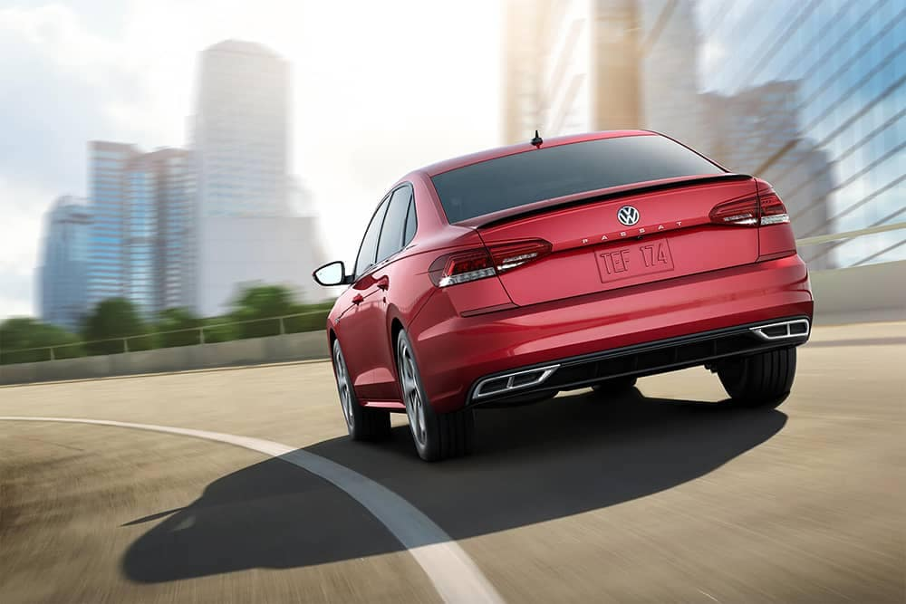 2020 VW Passat Rear