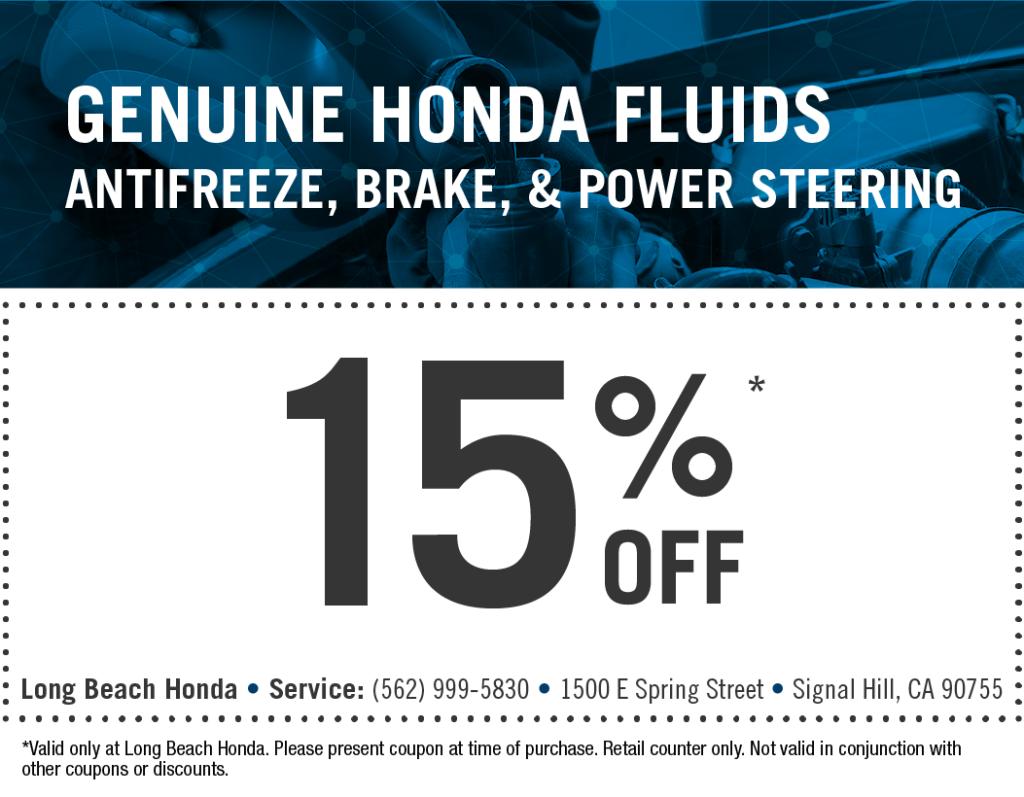 Genuine Honda Fluids
