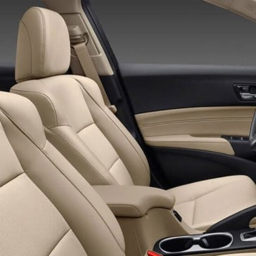 2017 Acura ILX front seats