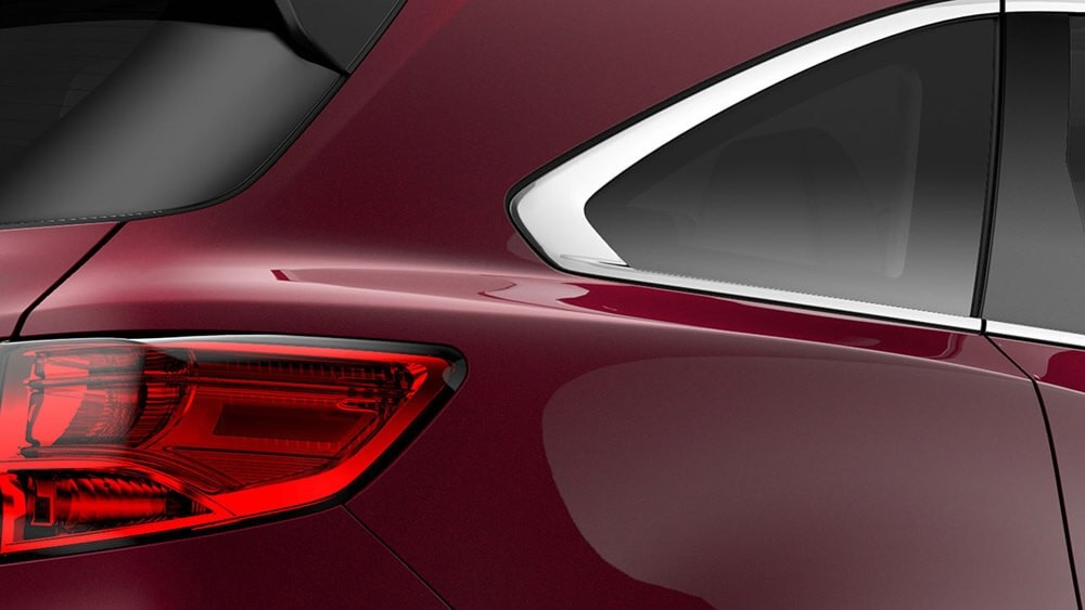 2017 Acura MDX exterior up close