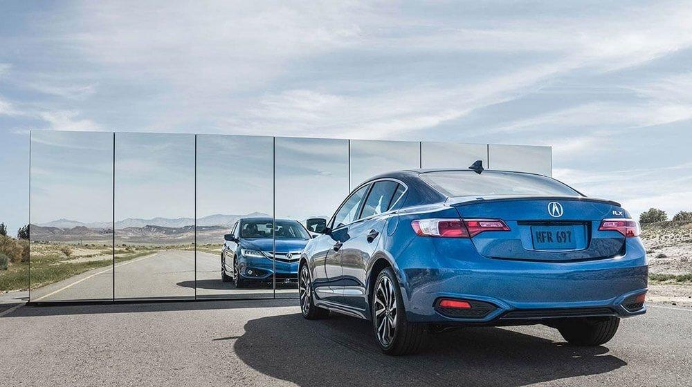 2017 Acura ILX blue exterior