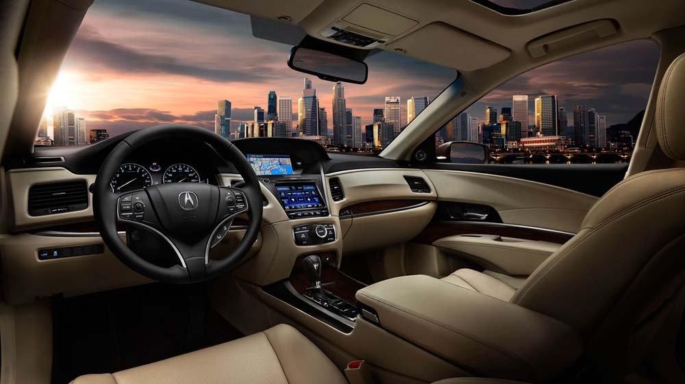 2017 Acura RLX front interior seats