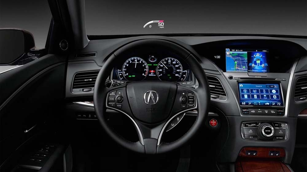 2017 Acura RLX front interior features