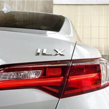 2018 Acura ILX tail light up close