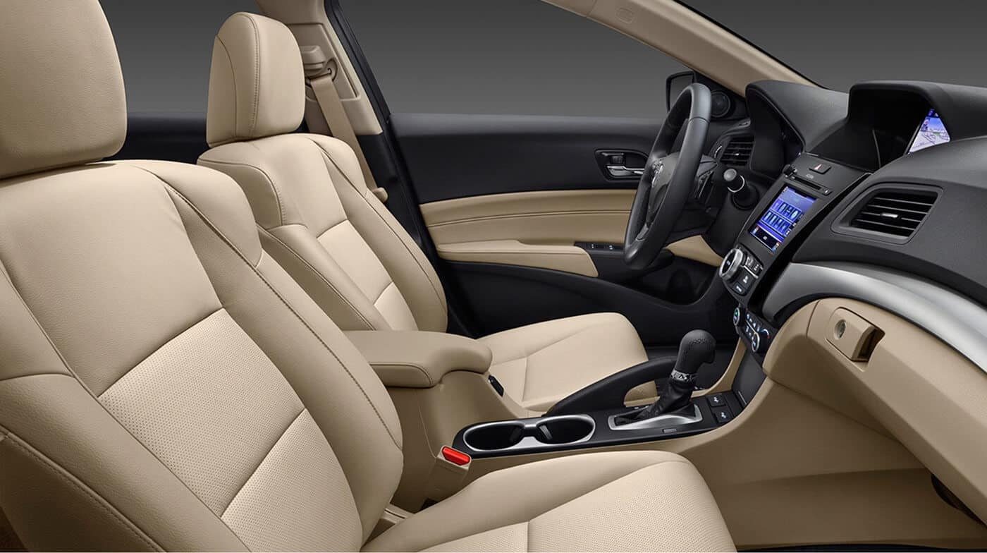 2018 Acura ILX seating