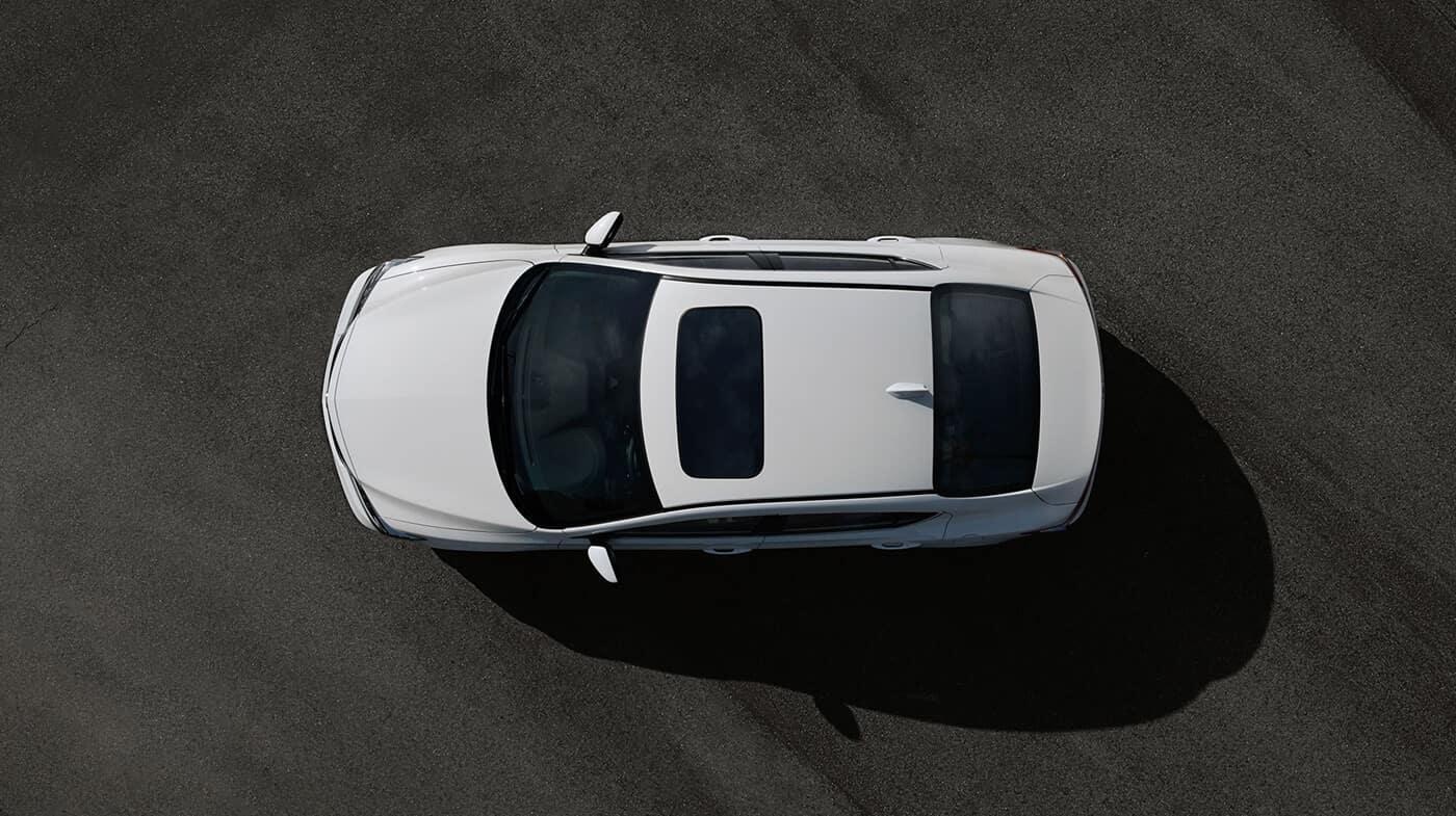 2018 Acura ILX top view