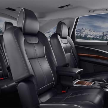 2018 Acura MDX seating