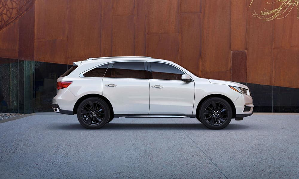 2018 Acura MDX side view
