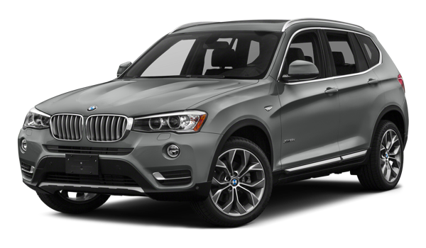 2017 BMW X3 white background