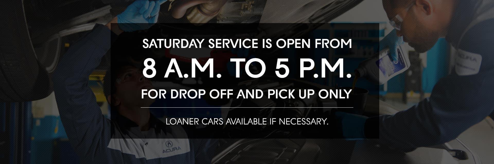 Los Gatos Acura Service Hours