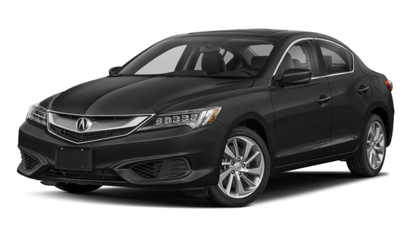 2018 Acura ILX white background