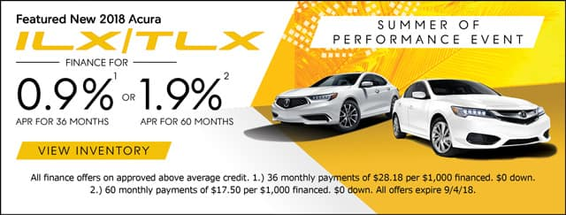 ILX/TLX Specials