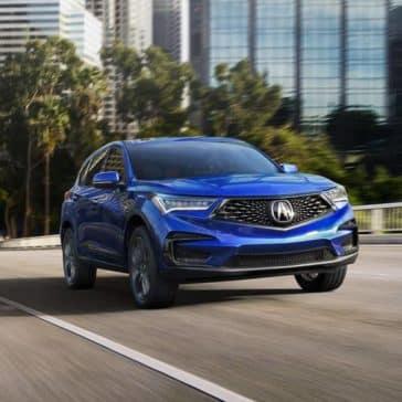 2019 Acura RDX blue exterior