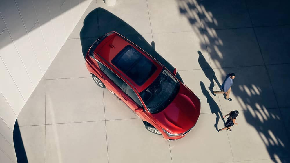 2019 Acura RDX aerial view