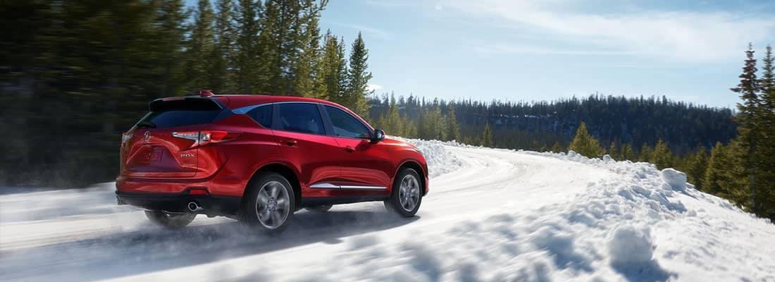 2019 Acura RDX In Snow