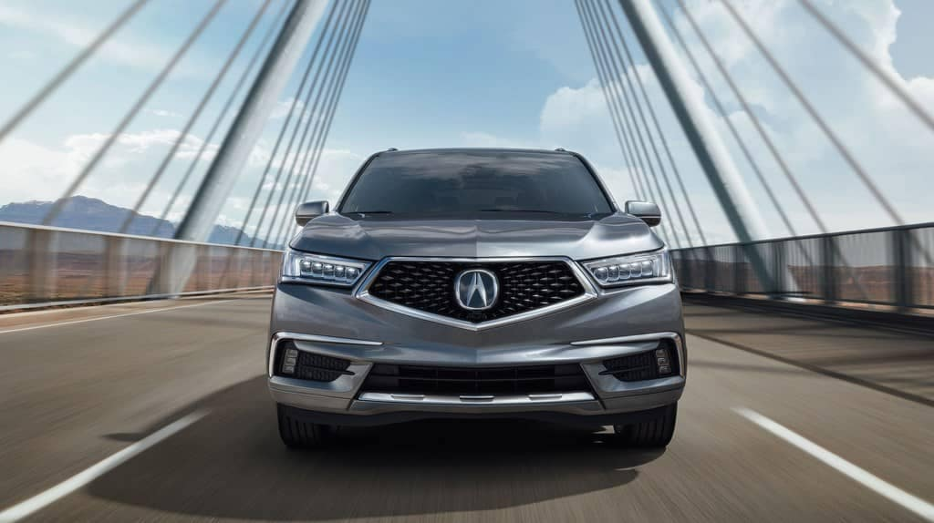 2019 Acura MDX front exterior