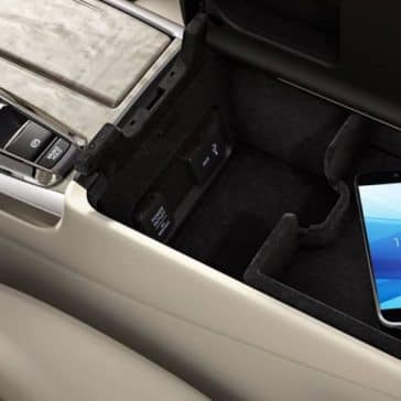 USB charging ports in 2019 Acura RLX