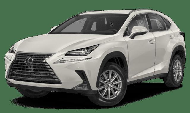 White 2020 Lexus NX