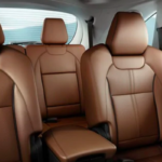 Brown Leather Interior 2020 Acura MDX