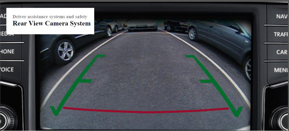 2018 VW Atlas Rear View Camera System